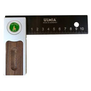Ulmia Präzisionswinkel Alu-Line 150 mm in Frontansicht
