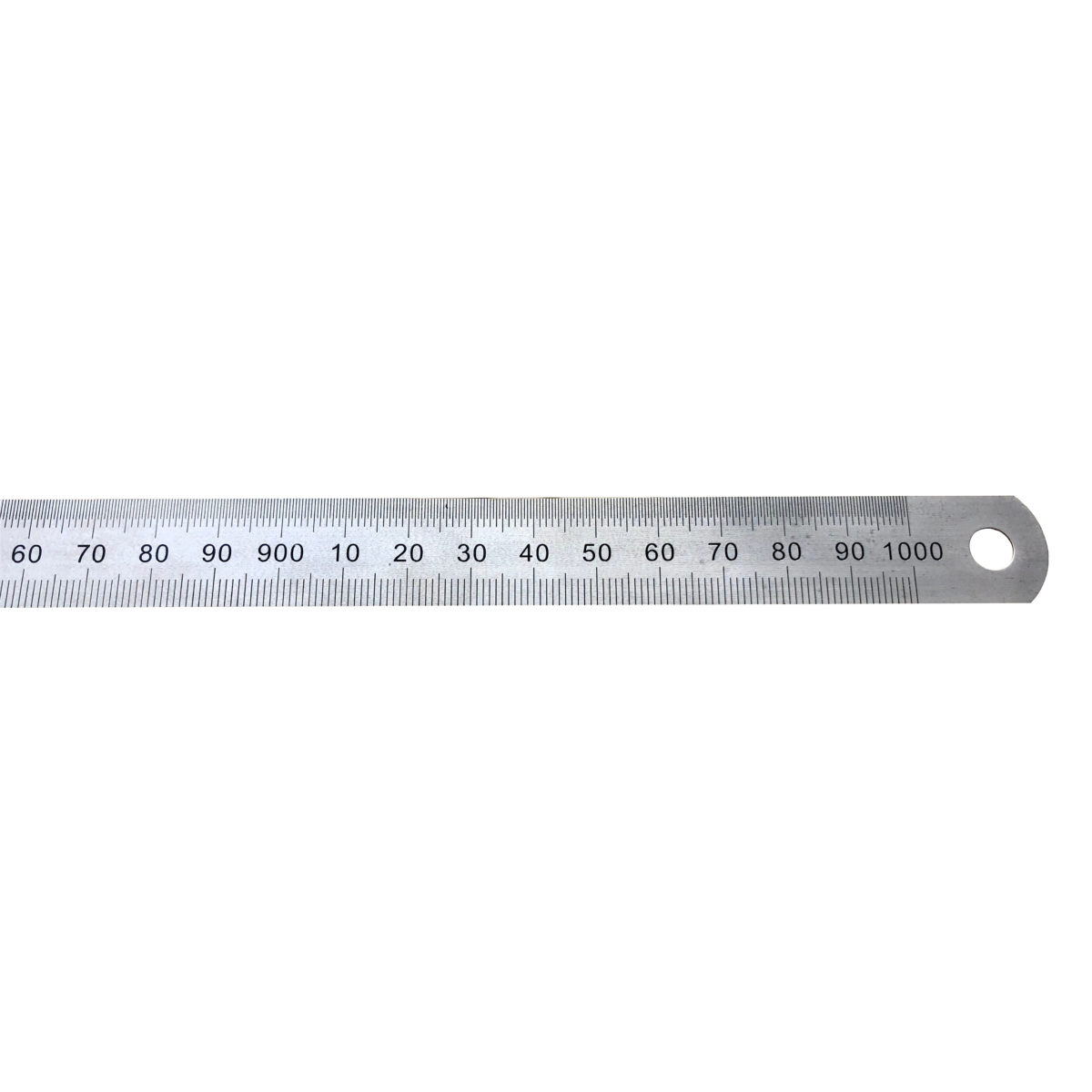 gm Stahlmaßstab 1000 mm in Draufsicht