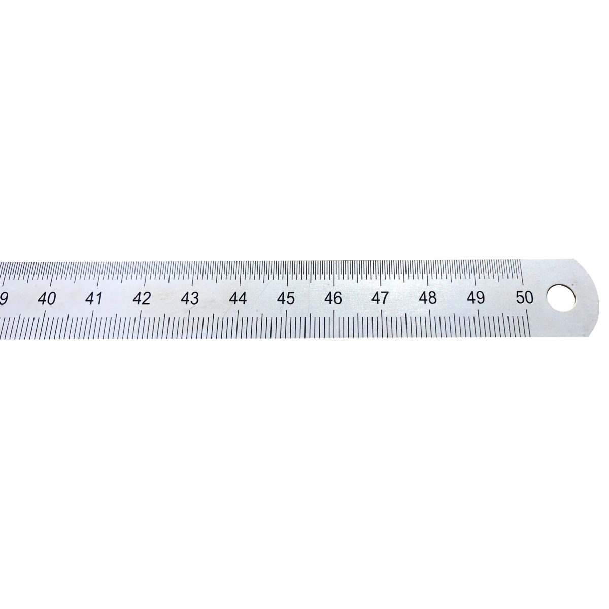 gm Stahlmaßstab 500 mm in Draufsicht