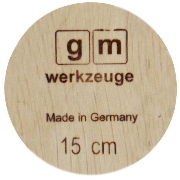 gm Weißbuchenwinkel 150 mm in Frontansicht