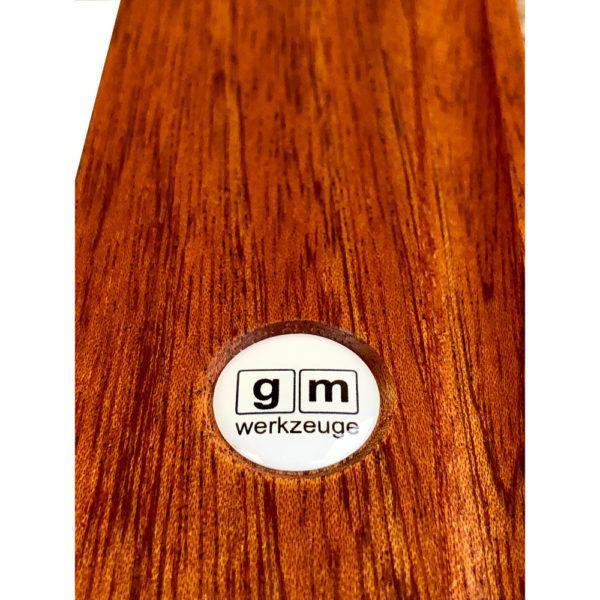 gm Wasserwaage aus Holz 400 mm Ansicht Logo